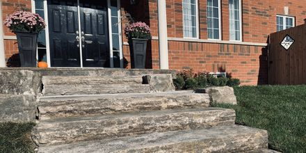 04 - Stone Steps & Walkway