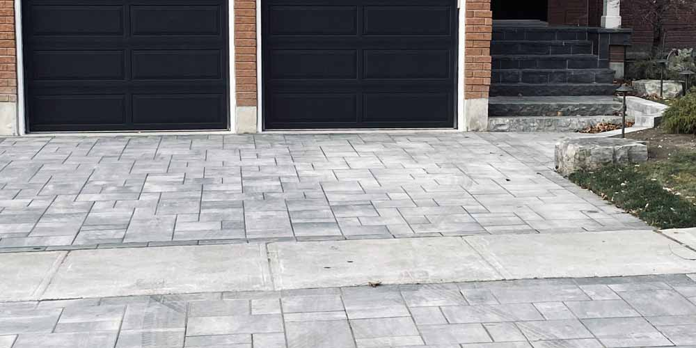 Custom Interlocking Driveway Design & Installation Whitby Durham Region