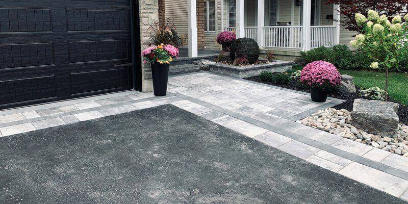 Interlocking Asphalt Driveways Landscaping Services