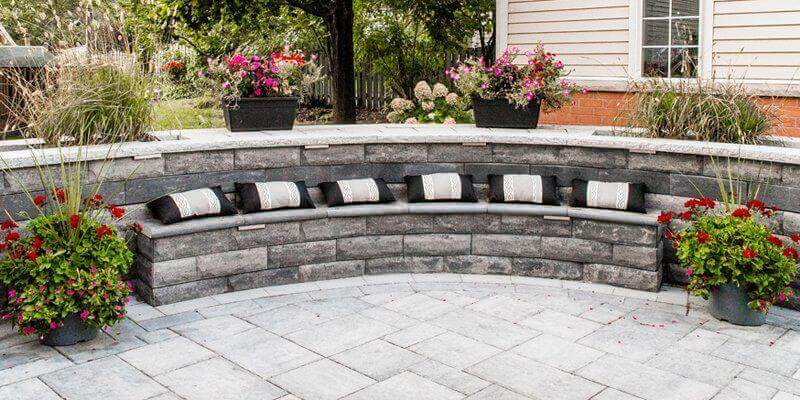 Interlocking Stone Patios Landscaping Services