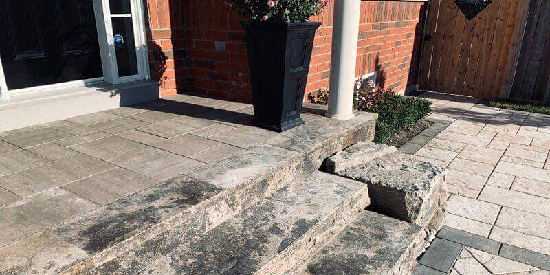 Stone Steps & Walkways Landscaping Services